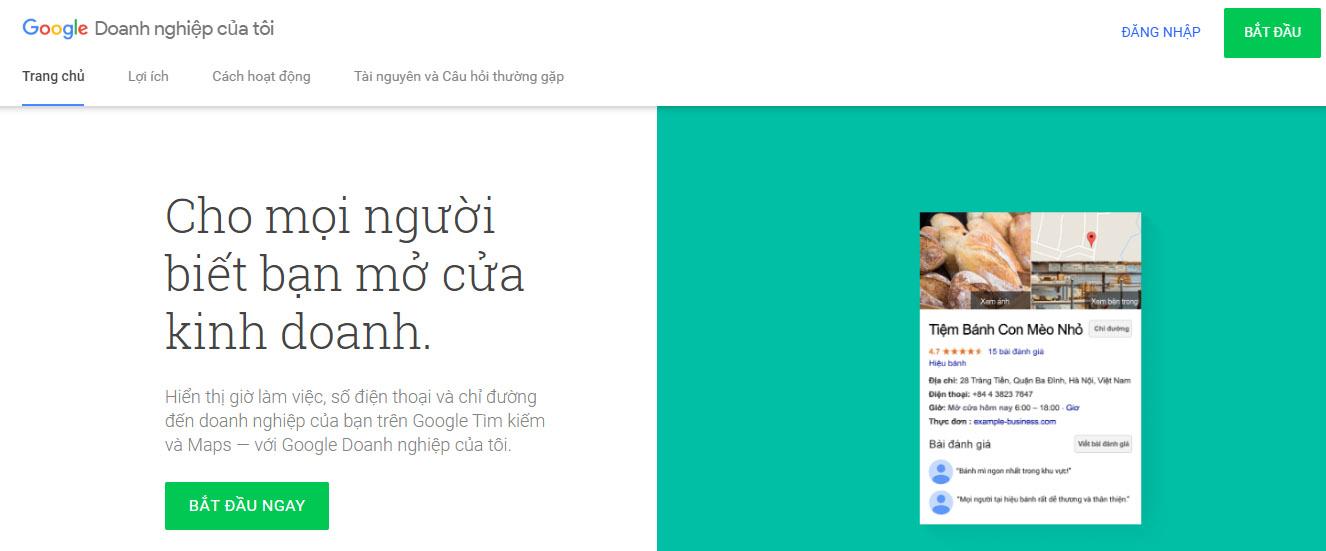 Đăng nhập Google Doanh nghiệp